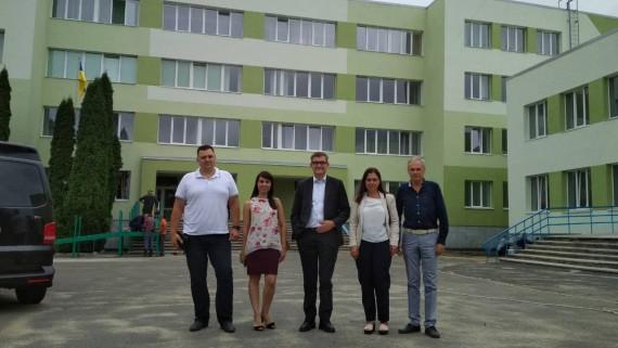 Керівники компанії НЕФКО інспектували виконання робіт в місті Рівному