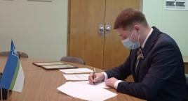 Міський голова Рівного Олександр Третяк підписав Ґрантову угоду на суму 1,2 млн. євро на впровадження заходів з енергозбереження