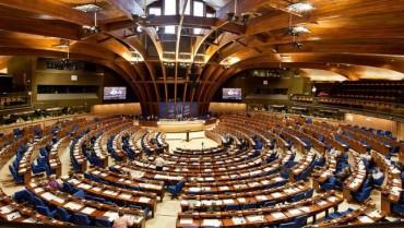 Вручення диплому Парламентської Асамблеї Ради Європи