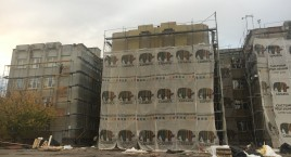 Active implementation of thermal modernization works on the NEFCO-2 project in Rivne has started